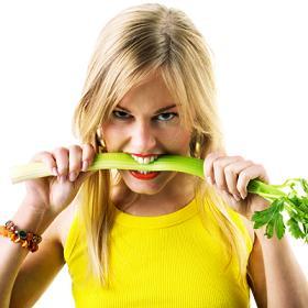 girl eating celery 400x400 girl eating celery 400x400