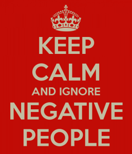 keep calm and ignore negative people 257x300 keep calm and ignore negative people